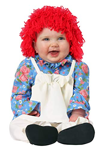 Infant Girls Rag Doll Costume 6/9 Months