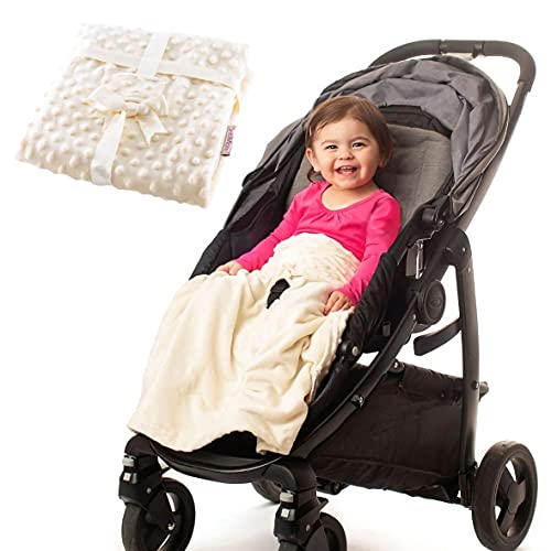 Product Image of the Non-Slip Stroller Blanket - Stays in Place, Off The Floor, Out of Stroller...
