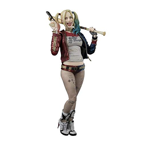 MA SOSER Harley Quinn Action Figure Suicide Squad Action Figure Circa 150 mm in ABS e PVC Verniciato