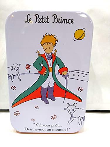 Miniatures World Le Petit Prince - Caja con el Principito en disfraz de Prncipe y ovejas de metal