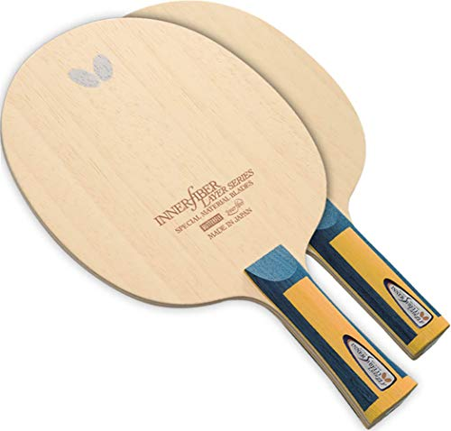 Butterfly Innershield Layer ZLF Blade - ZL Fiber Blade - Professional Table Tennis Blade - Available in FL and ST Shakehand Handle Styles - Made in Japan