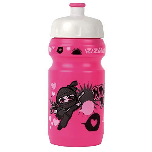 ZEFAL Little Z Bidón-Portabidón, Unisex Adulto, Rosa, 350 ml