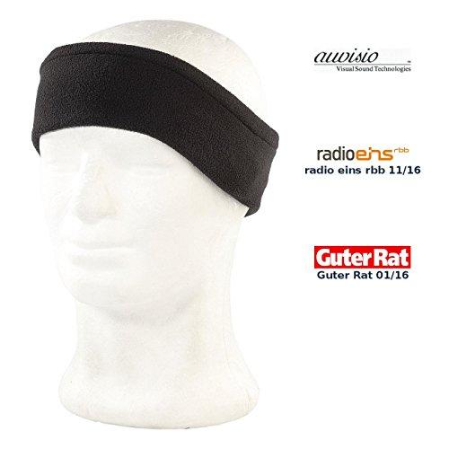 auvisio Schlafkopfhörer: Schlaf-Headset & -Kopfhörer Sleep HS.BT mit Bluetooth 4.0 (Schlafstirnband), schwarz