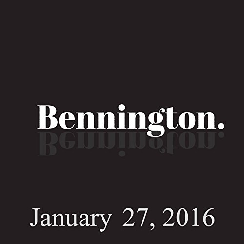 Bennington, Garry Tallent and Jay Oakerson, January 27, 2016 cover art