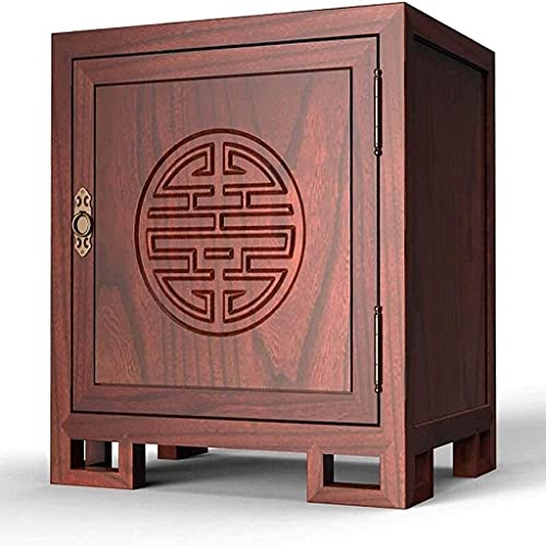 Caja fuerte de seguridad, cajas fuertes de gabinete, caja fuerte con contraseña digital, oficina, caja fuerte pequeña de acero de madera maciza para el hogar de 60 cm de altura, caja de seguridad invi