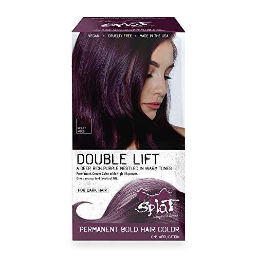 Splat Violet Vibes Double Lift Permament Hair Dye Kit for Brunettes