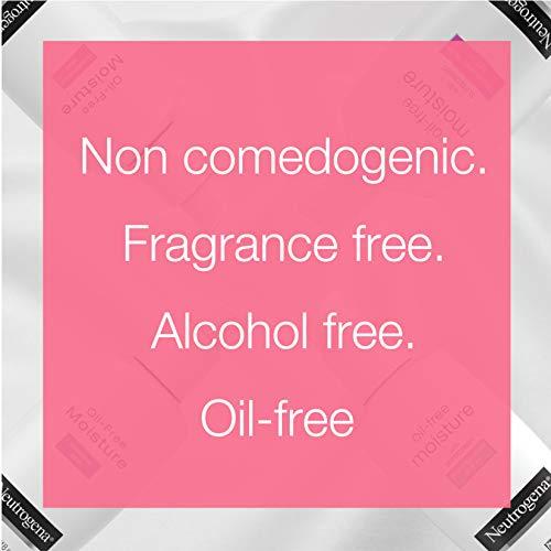 Neutrogena Oil Free Moisture Glycerin Face Moisturizer