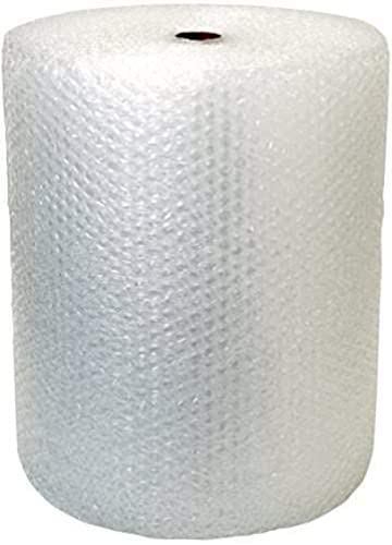 Veeshna Polypack Bubble wrap Roll Multipurpose Packing Material for Your Daily Packaging Safety Needs Transparent 50 Meters Long x 1 Feet Wide 8