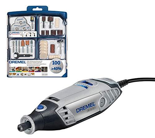 Dremel 3000-1/25 EZ - Multiherramienta + Dremel 2615S723JA - Kit de 100 accesorios variados