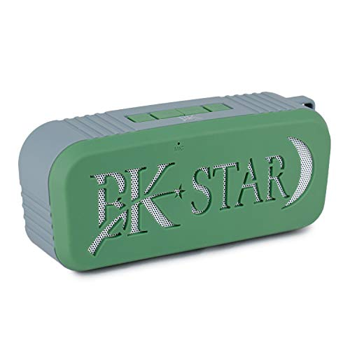 BK Star Portable Wireless Bluetooth Speaker Stereo System Supper Sound Quality Support FM Radio, Mini TF Card, USB Port Compatible with All Devices