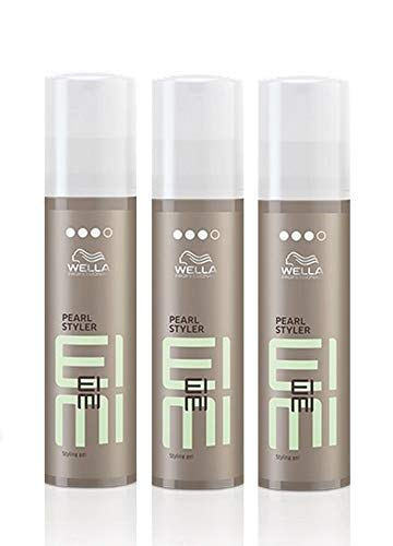 Wella EIMI Pearl Styler 3 x 100 ml Styling Texture Gel Professionals by Wella