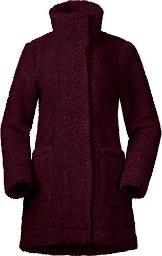 Bergans Oslo Wool Loosefit Jacke Damen Zinfandel red Melange Größe XS 2020 Funktionsjacke