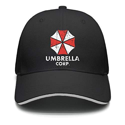 Slimerland Men Women Baseball Cap Adjustable Umbrella Corp Trucker Hat Black