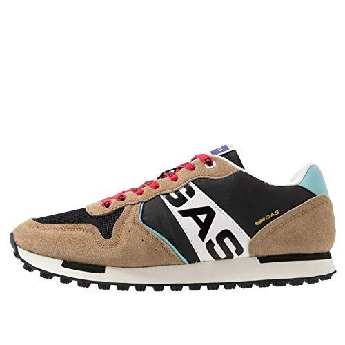 Gas Sneakers Uomo Parris Nyx - GAM013017 01 - Beige (Marrone), Taglia EU 43