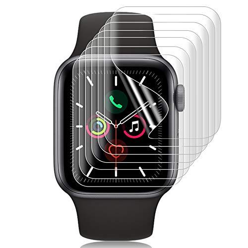 SHINEZONE 【7枚パック】for Apple Watch Series 6 / SE / 5 / 4 40mm フィルム Series2/3 38mmフィルム TPU製 曲面を全面カバー