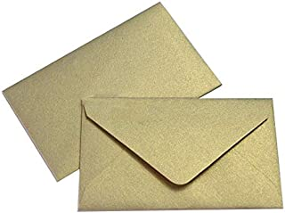 Mini Envelopes 2 1/2 x 4 1/4- Metallic Gold Leaf - 50 Pack - My Scratch Offs
