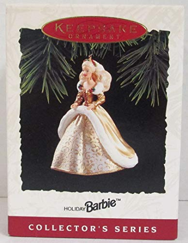 Hallmark Barbie in Gold Christmas Gown Holiday Collector's Series Keepsake Ornament
