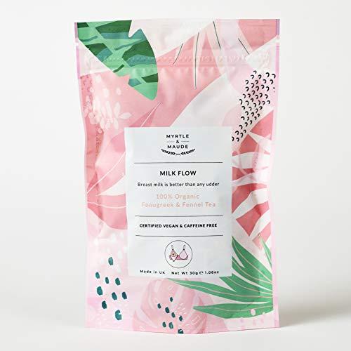 Myrtle & Maude - Organic Breastfeeding/Lactation/Nursing Herbal Tea -15 x Tea Bags