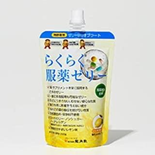 龍角散 らくらく服薬ゼリー チアパック レモン味 200g×3袋セット