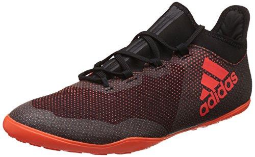 adidas X Tango 17.3 In, Zapatillas de Fútbol Hombre, Multicolor (Core Black/Solar Red/Solar Orange), 44 EU