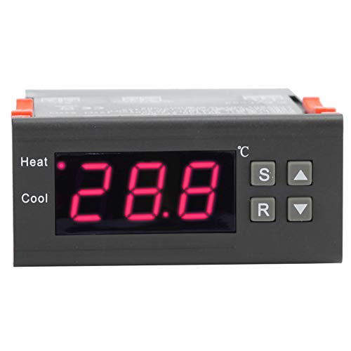 FOLOSAFENAR Regulador de Temperatura del termostato Digital de Larga duración del Material ABS, para calefacción por Suelo Radiante AC