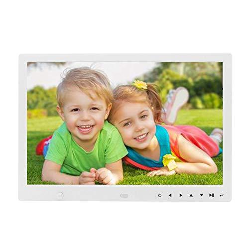 Digitale fotolijst, 15 '' HD touchscreen fotolijst wekker MP3 / 4 speler (VS)
