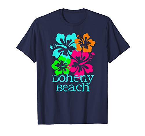 Doheny Beach Tropical Paradise Travel Surf Ocean Vacay T-Shirt