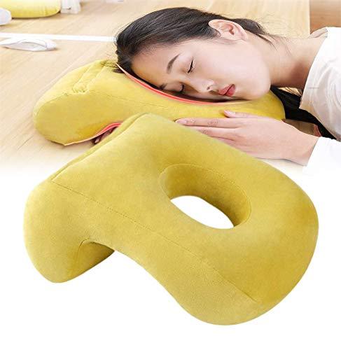QMZDXH Cojín de cara hacia abajo para uso postoperatorio ocular, almohada de cuña de cama, almohada de cara para dormir boca abajo apoyo de espalda
