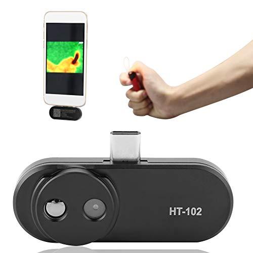 Wandisy Cámara termográfica, HT-102 USB Cámara termográfica infrarroja para...