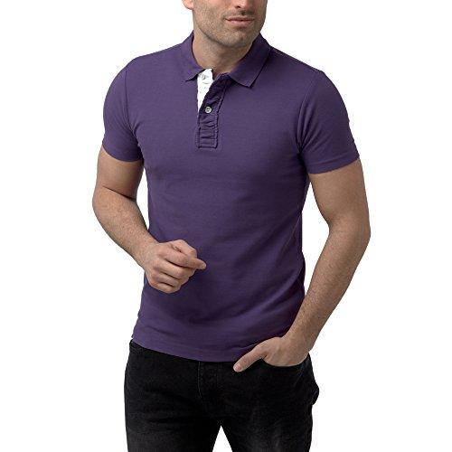 Charles Wilson Camiseta Polo con Solapa de Contraste