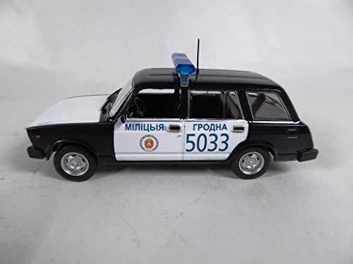 OPO 10 - VAZ-2104 1/43 Colección Mundial de Coches de policía - BEL (PM36)