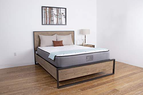 Plank by Brooklyn Bedding 11-Inch TitanFlex Two-Sided Firm Mattress, Queen