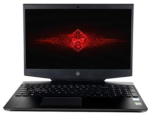 CUK HP Omen 15t Gaming Laptop (Intel i7-9750H, 32GB RAM, 1TB NVMe SSD + 1TB HDD, NVIDIA GeForce RTX 2070 8GB Max-Q, 15.6' 4K UHD, Windows 10 Home) Gamers Notebook Computer