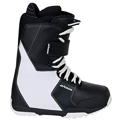 Airtracks Snowboard Softboots Savage Black White - 42