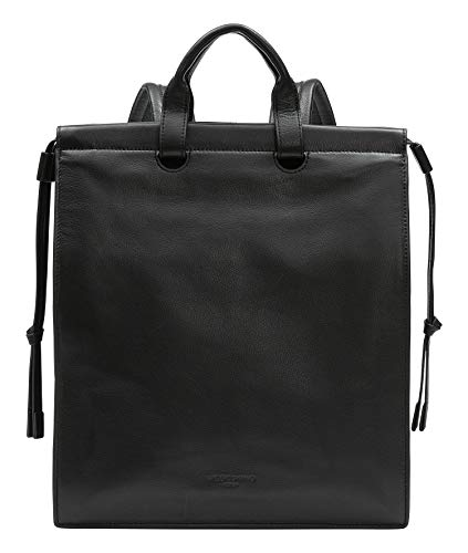 Liebeskind Berlin Jill Backpack Rucksackhandtasche, Medium (35 cm x 30 cm x 12cm), black