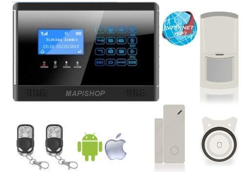Mapishop Clarence versione 2020 Wireless Gsm e Con Connessione A Internet wifi