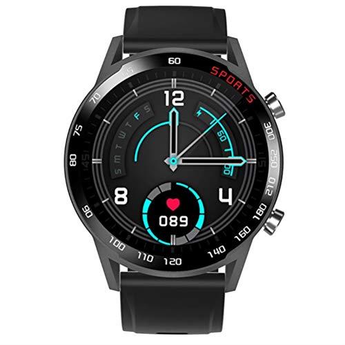 Ritmo Cardíaco Blood Oxygen Health Smartwatch, Pantalla Táctil Completa Pantalla De Color Bluetooth Sports Watch con Función De Carga De Atracción Magnética
