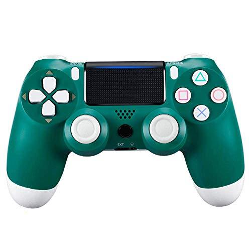 XFF Controlador Gamepad Gamepad PS4 Gamepad Joystick con Doble Vibración con Bluetooth, Un Regalo Que Les Gusta a Los Niños