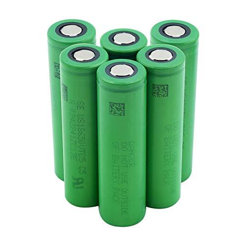 yfkjh 3.7 v 2600mah VTC5 18650 Batería De Iones De Litio De Litio, Reemplazo para Radio De Banco De Energía De Linterna 2pieces