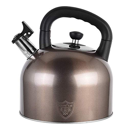 Zingende ketel Gas Grote capaciteit Hot Pot Inductiekookplaat 304 roestvrijstalen waterkoker, voor thuis, op kantoor, buiten