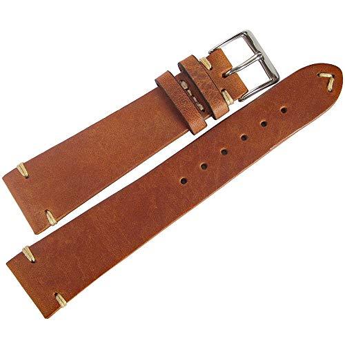 Fluco Hunter 19mm Tobacco Leather W…
