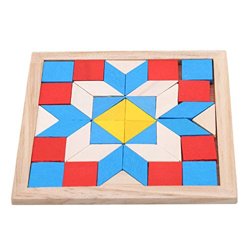 FEITeng Picture - Rompecabezas educativo de madera para niños y adultos