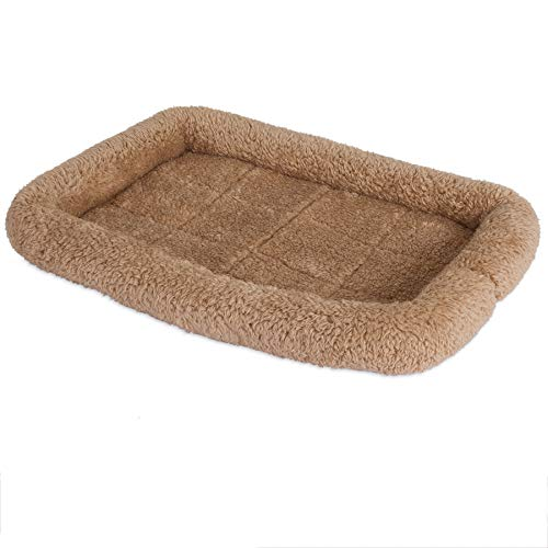 SnooZZy Bolster Crate Mat, Tan, for 24