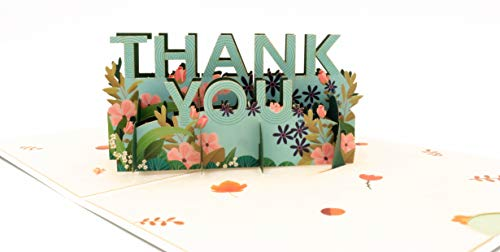 Recordable Greeting Card, Thank you Pop Up Card, 3D Card, Thank You card, Birthday thankful Cards, Pop Up Thanksgiving Cards Musical Christmas cards, Custom Thank you cards