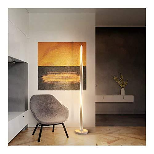 Lámpara Alta Lámpara de pie LED Moderna 3 temperaturas de Color Lámpara de pie Moderna Lámpara de pie Alto para Sala de Estar, Dormitorio, Oficina Lámpara de pie