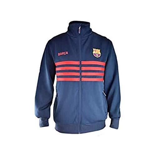 Chaqueta Plus nº 9 del FC. Barcelona - Producto Autorizado con Licencia del FC. Barcelona - 100% Poliester - Talla XL