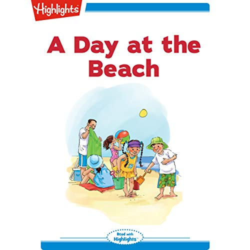 A Day at the Beach audiobook cover art