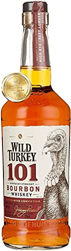 5. Wild Turkey 101 – Whisky bourbon de 70 cl