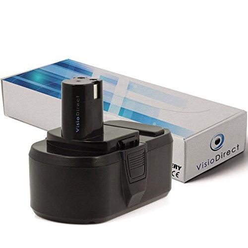 Batterie pour Ryobi OBL-1801 aspirateur sans fil 3000mAh 18V - Visiodirect -