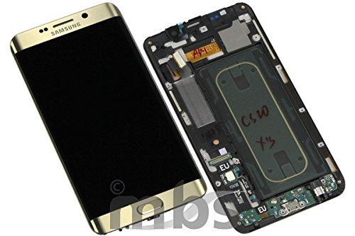 Original Samsung Galaxy S6Edge Plus sm-g928F LCD Pantalla Táctil De Oro Platinum